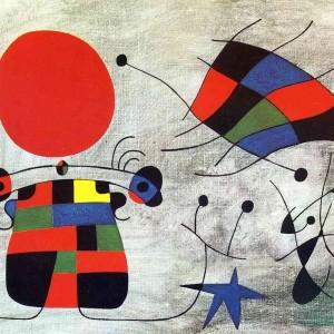 Joan Miro, Zâmbetul aripilor, 1953