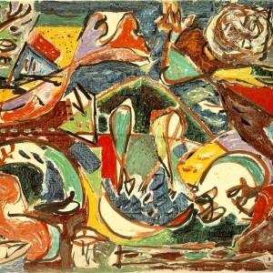 Jackson Pollock, Cheia, 1946