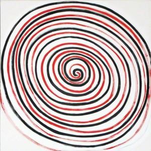 pictura abstractă pentru copii, Terry Frost, Spirale, 2000