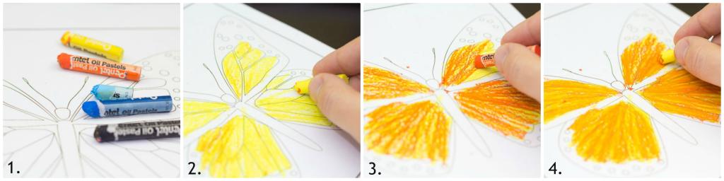 fluturele monarh activitati pentru copii 3