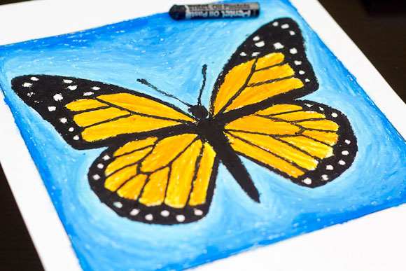 fluturele monarh activitati pentru copii