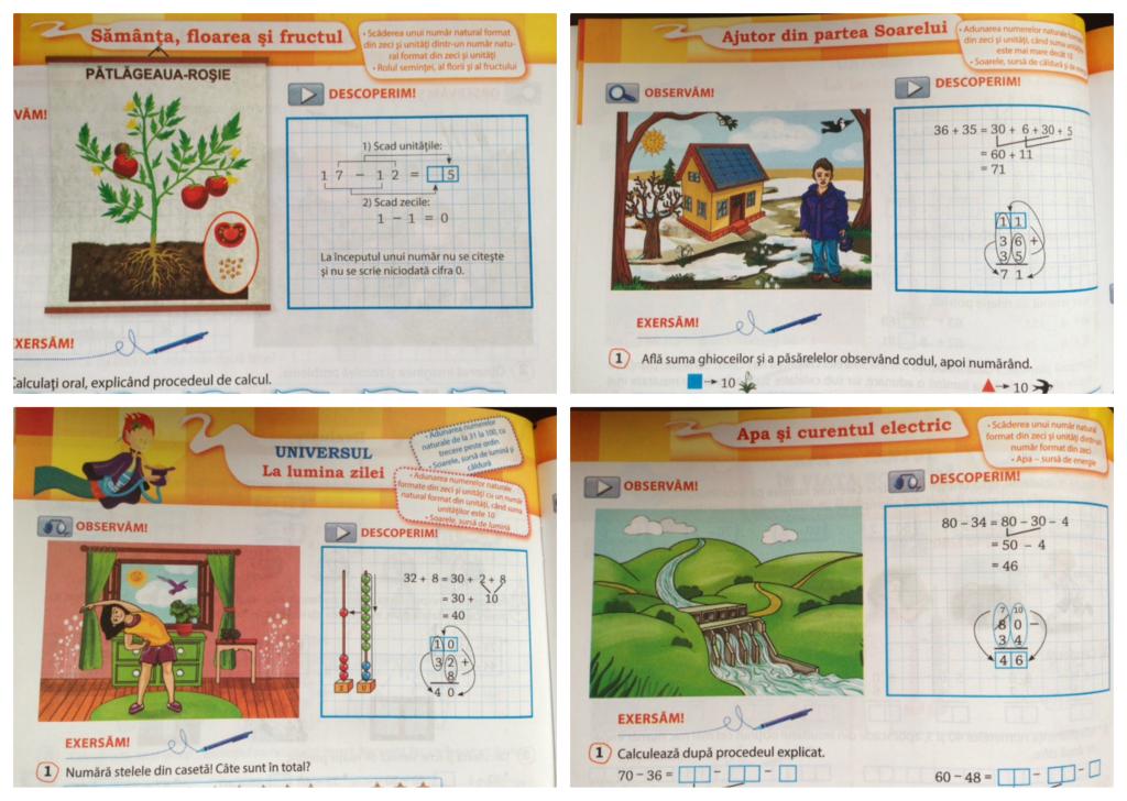 manuale matematica si explorarea mediului