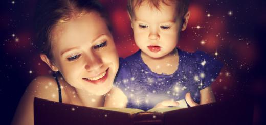 mama si copil citesc seara