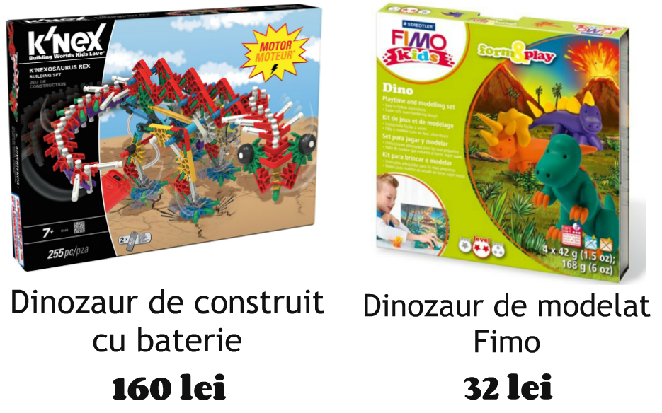 Jucarii cu dragoste dinozauri