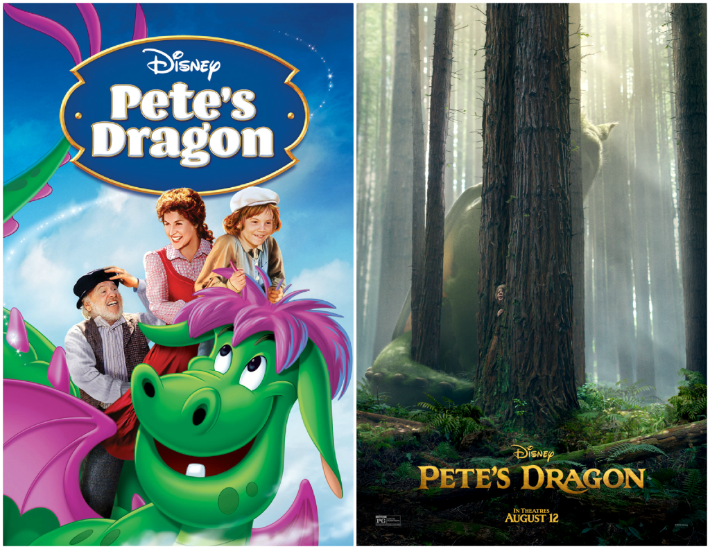 desene animate disney pete dragon