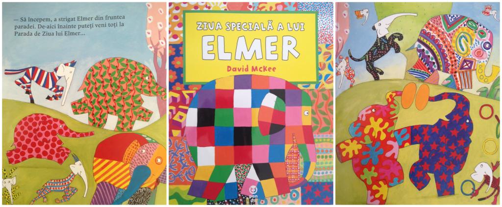 carti pentru copii. Elefantul Elmer