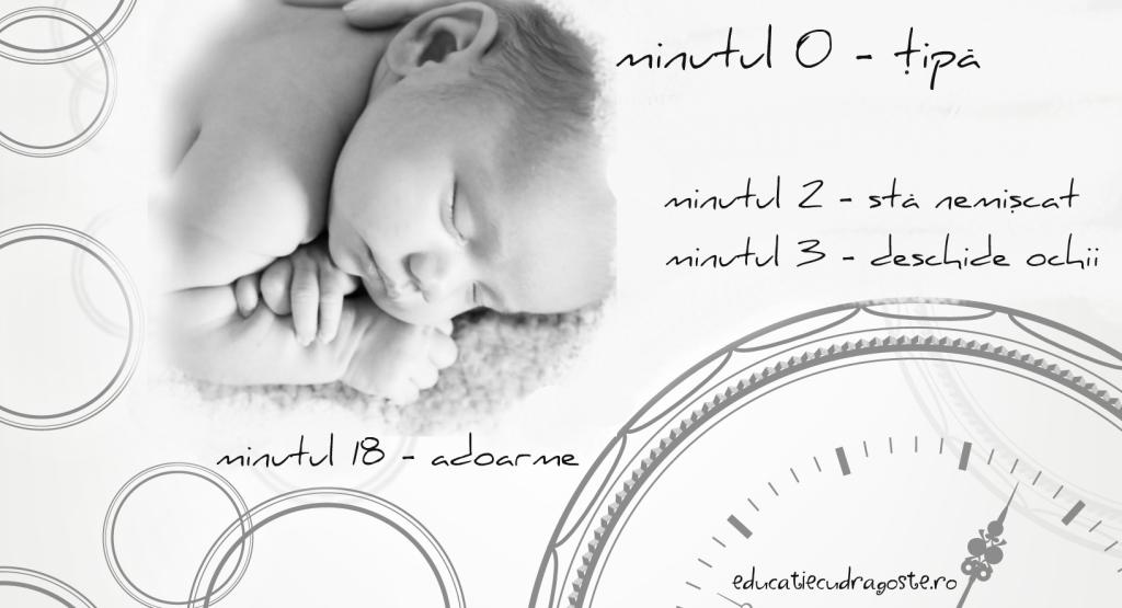 prima ora din viata unui bebelus