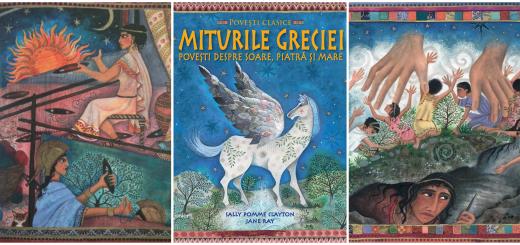 carti pentru copii miturile greciei