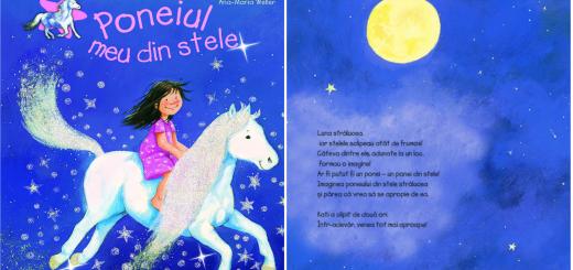 carti pentru copii poneiul meu din stele