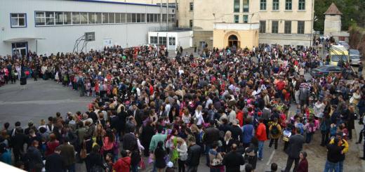 festivitate deschidere an scolar