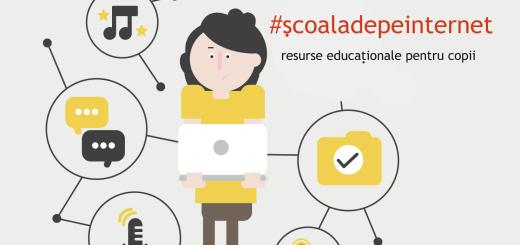 #scoala-de-pe-internet resurse educationale pentru copii