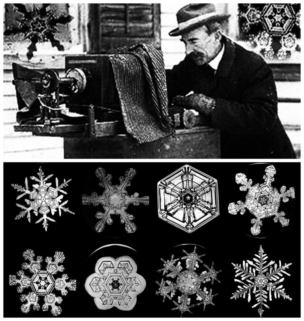 primele fotografii ale fulgilor de zapada