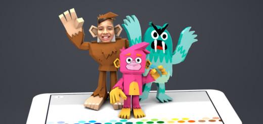 aplicatie copii Toontastic-3D