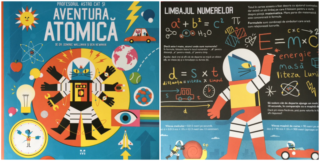 Profesorul Astro Cat si Aventura atomica carti pentru copii