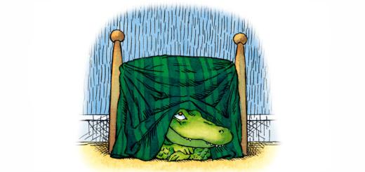 am un crocodil sub pat. carti pentru copii