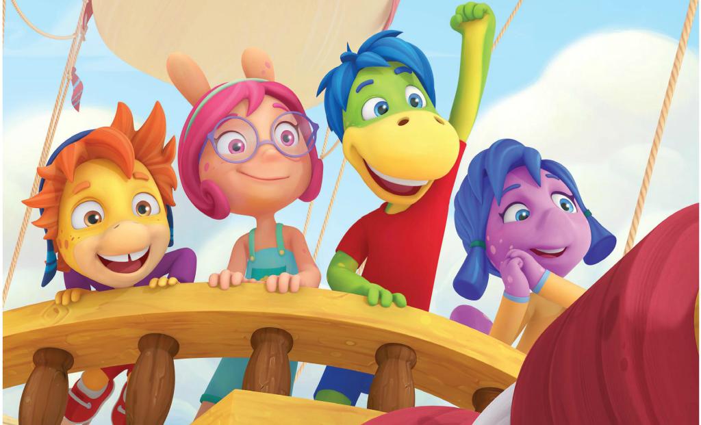 aventurile lui dino desene animate pentru copii