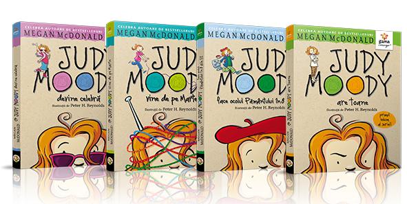 Judy Moody #cartilesofiei carti pentru copii