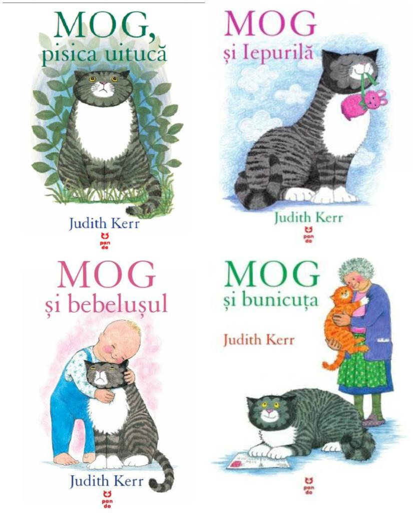 seria Mog, carti pentru copii