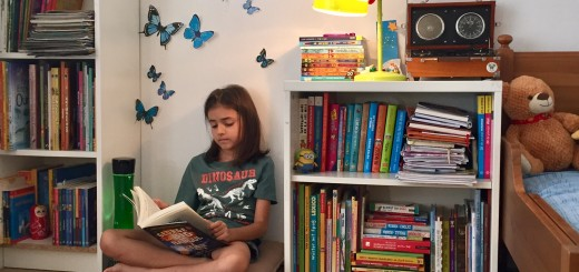 cum amenajezi un colt pentru lectura pentru copii