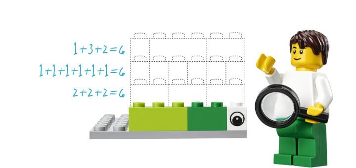 matematica cu lego