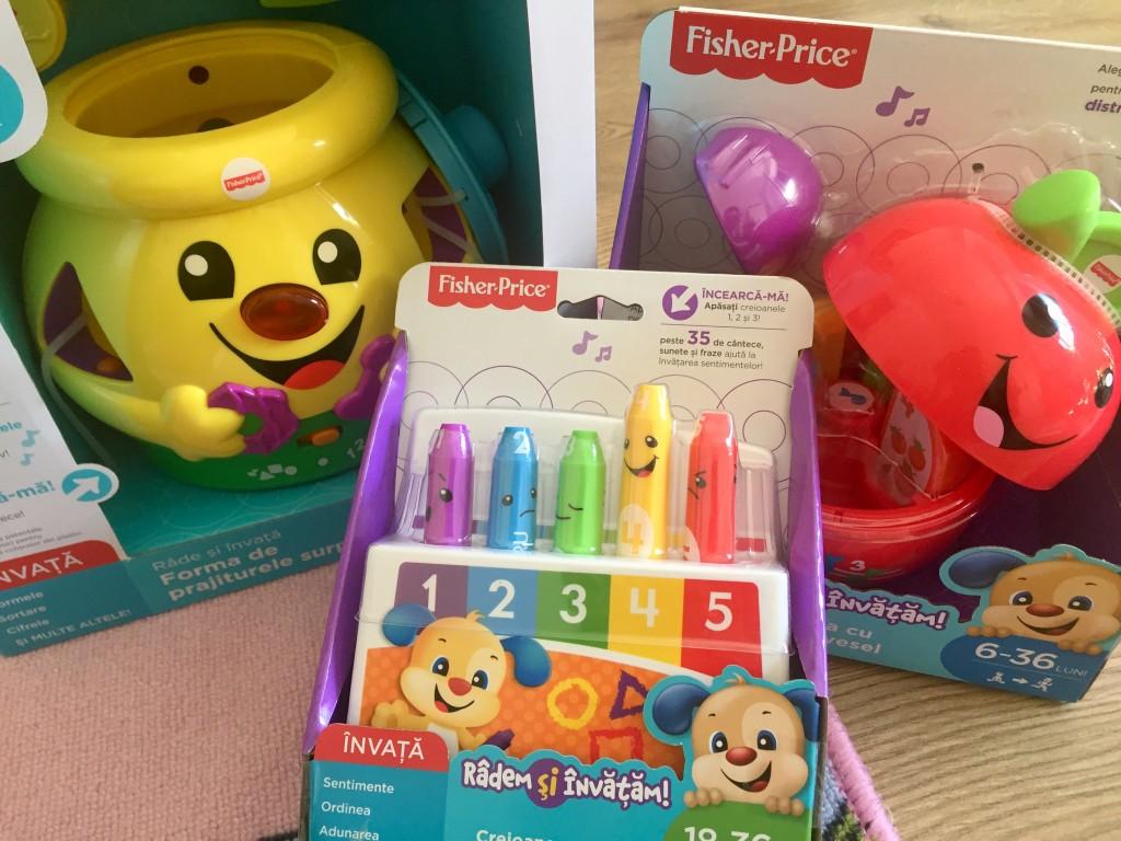 jucarii pentru copii intre 6 - 36 de luni