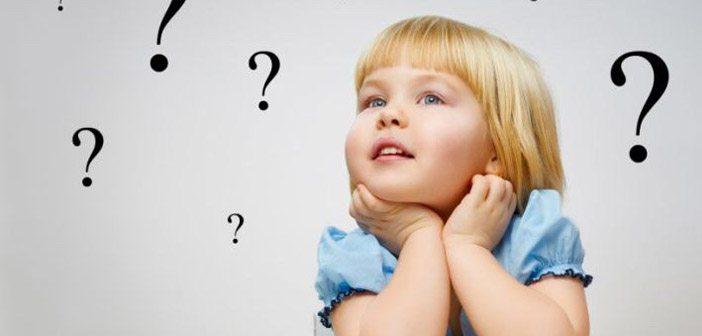de ce copiii intreabă de ce