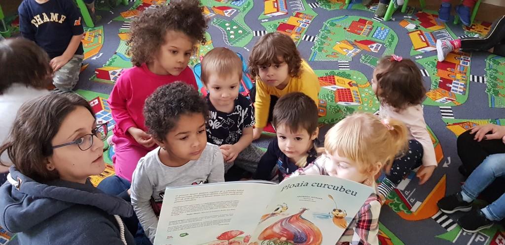 ateliere de lectura in scoli si gradinite