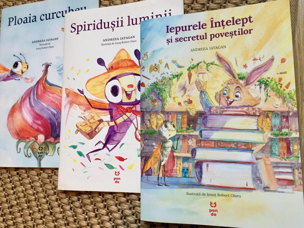 carti pentru copii Andreea Iatagan