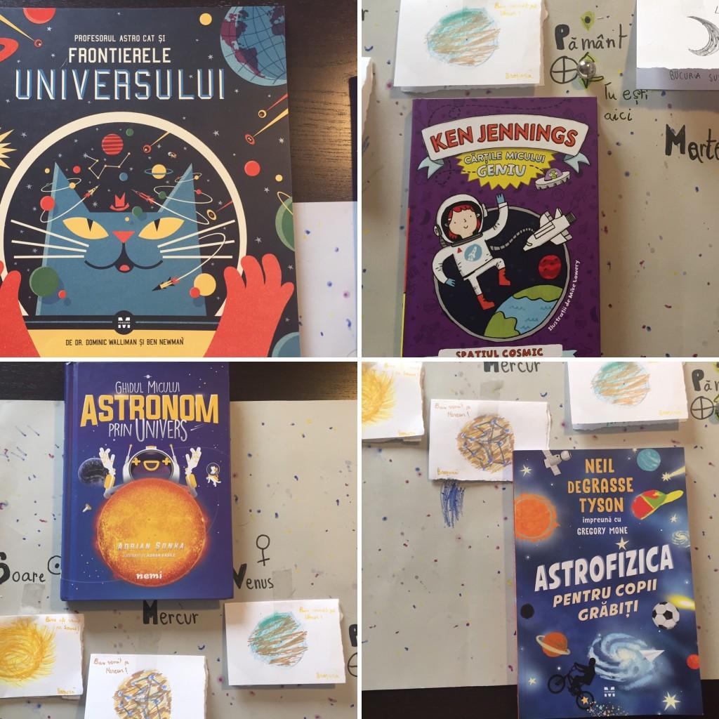 carti pentru copii de astronomie si astrofizica