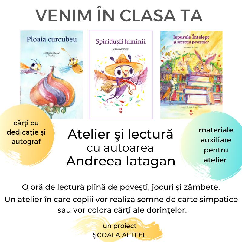 ateliere lectura in scoli Andreea Iatagan