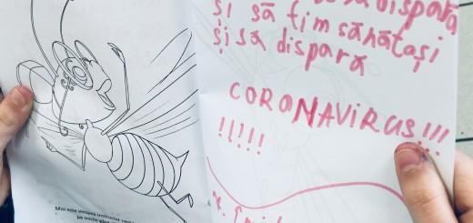 copiii in vremea coronavirusului
