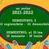 structura an scolar 2021-2022